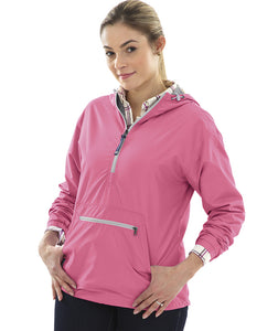 Women's Chatham Anorak Solid - Neon Pink - Ciao Bella Boutique