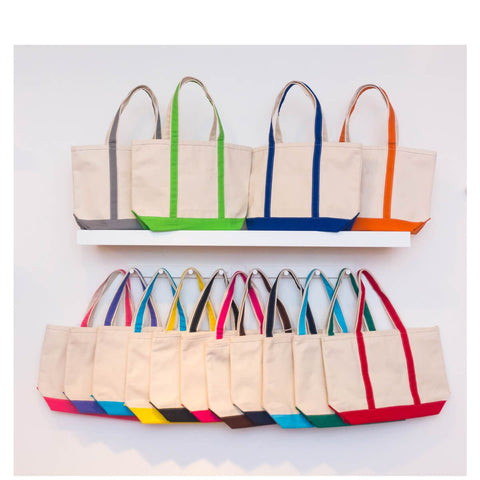 Small Boat Tote - 18 Different Color Options - Ciao Bella Boutique