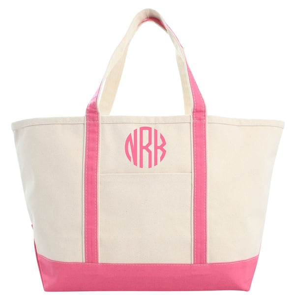 Large Boat Tote - 19 Different Color Options - Ciao Bella Boutique
