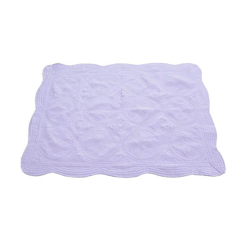 Baby Quilt - Lavender - Ciao Bella Boutique