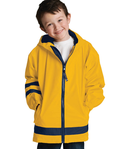Children New Englander Jackets - Yellow - Ciao Bella Boutique