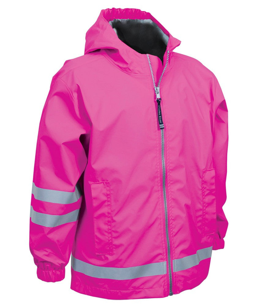 Children New Englander Jackets - Hot Pink - Ciao Bella Boutique