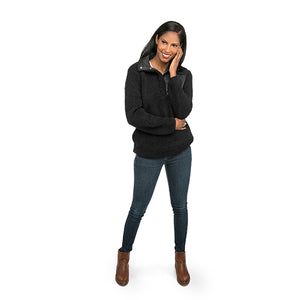 Sherpa Pullovers - Black (2017) - Ciao Bella Boutique