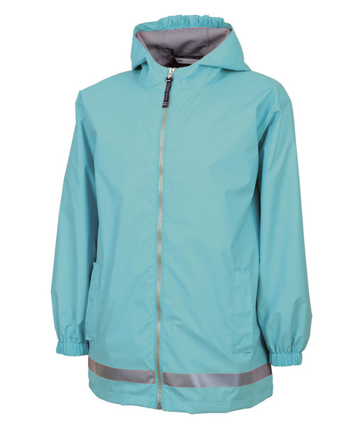 Youth New Englander Jacket - Aqua - Ciao Bella Boutique