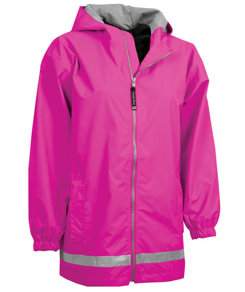 Youth New Englander Jacket - Hot Pink - Ciao Bella Boutique