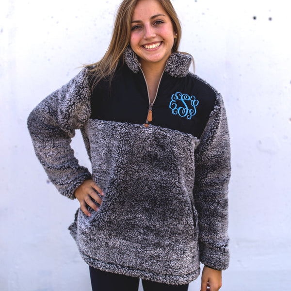 Frosted Sherpas - 4 Color Options - Ciao Bella Boutique