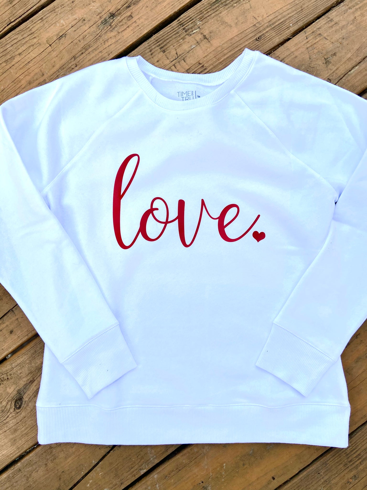 Love Sweatshirt - Adult and Kid sizes - Ciao Bella Boutique