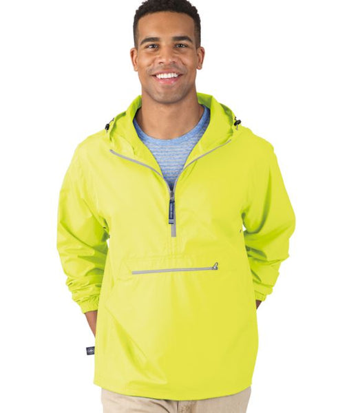 Pack-N-Go Pullover - Neon Yellow - Ciao Bella Boutique