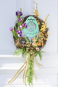 Wooden Easter Egg - Ciao Bella Boutique