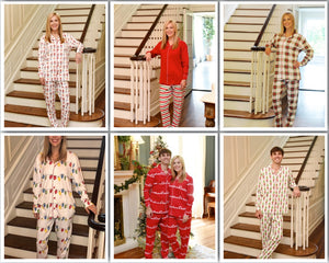 Organic Cotton Full Set Adult Christmas Pajamas **PRE-ORDER ONLY** - Ciao Bella Boutique
