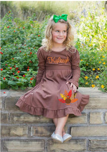 Customize Your Own Thanksgiving Dress -7 Dress Color Options - Ciao Bella Boutique