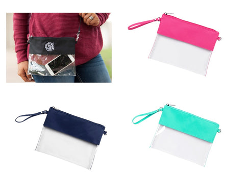 Clear Purses - 10 Colors - Ciao Bella Boutique