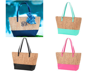 Cork Charlotte Purses - 5 Colors - Ciao Bella Boutique