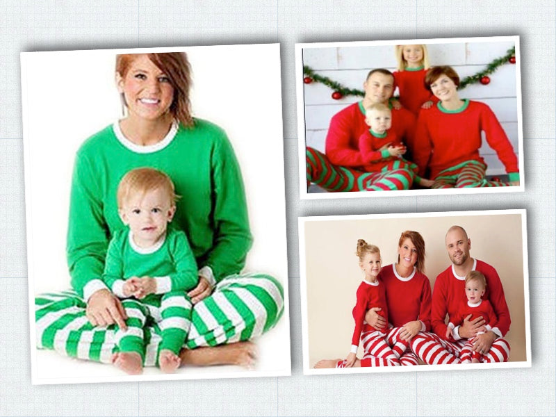Striped Christmas Pajamas - Kids - Ciao Bella Boutique
