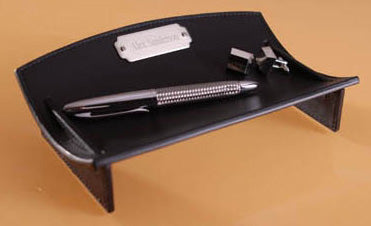 Leather Desk Caddie - Ciao Bella Boutique