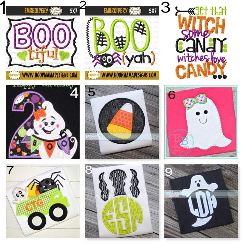 Customize Your Own Halloween Shirt - Solid Ts - Ciao Bella Boutique