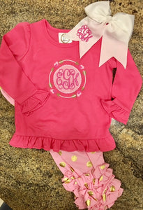 Pink Hearts N' Arrows Outfit - Ciao Bella Boutique