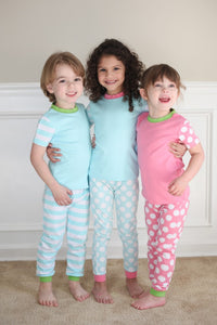 Raglan Style Spring Colored Pajamas - 3 Colors - Ciao Bella Boutique