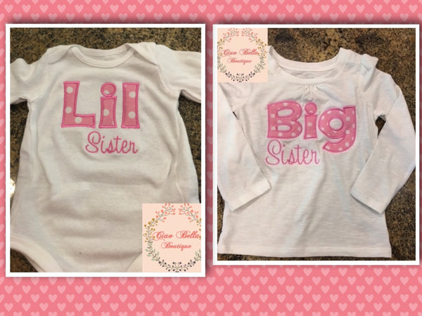 Big Sister Shirt - Ciao Bella Boutique