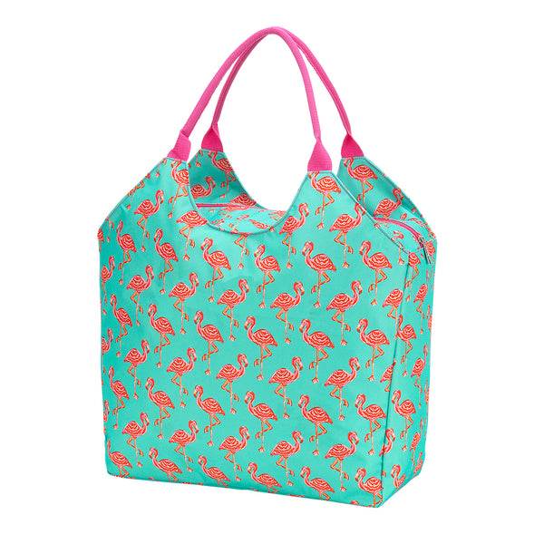 Tickled Peach Beach Bag - Ciao Bella Boutique
