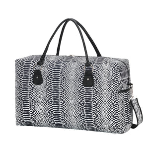 Snakeskin Travel Bag
