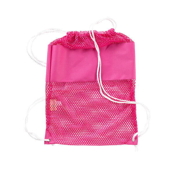 Mesh Backpack- Hot Pink - Ciao Bella Boutique