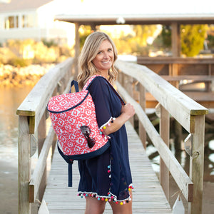 Cooler Backpacks - 4 Pattern Options - Ciao Bella Boutique