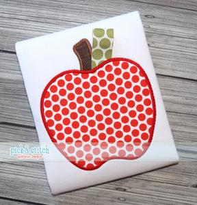 Apple Applique Shirt - Toddler - Ciao Bella Boutique