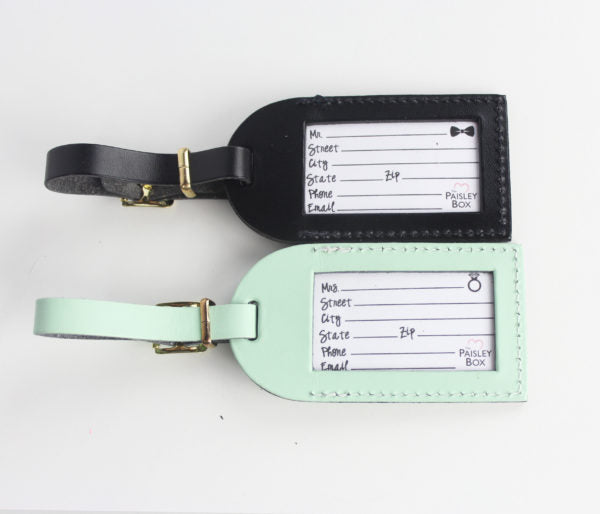 Mr. & Mrs. Luggage Tag - Ciao Bella Boutique