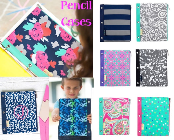Pencil Cases - 10 Styles - Ciao Bella Boutique