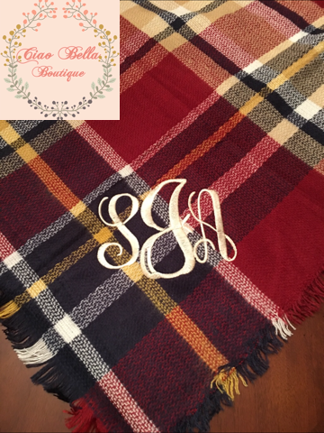 4de51dce32fe7 Red Wine Blanket Scarf – Ciao Bella Boutique