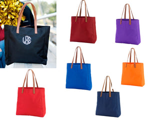 Solid Color Totes - 7 Colors - Ciao Bella Boutique