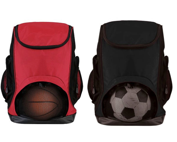 Universal Sports Backpacks - Black or Red - Ciao Bella Boutique