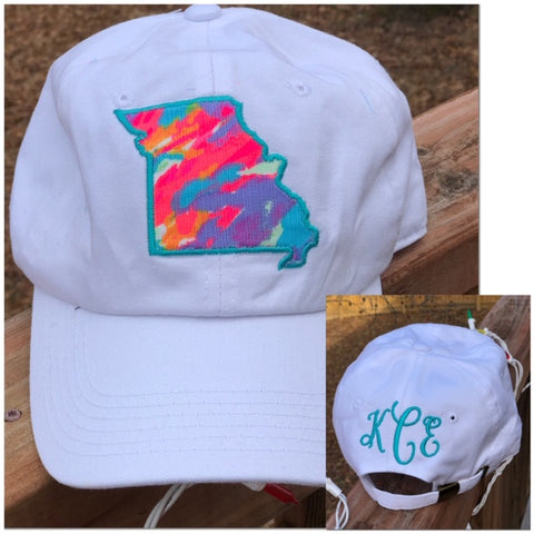 Lilly Inspired State Caps - 8 Solid Cap Colors - Ciao Bella Boutique