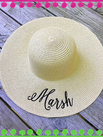 Floppy Hat - Natural - Ciao Bella Boutique