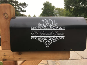 Initial Mailbox Address Decal - Ciao Bella Boutique