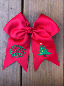 Christmas Tree Red Bow - Ciao Bella Boutique