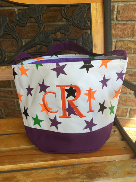 Multicolor Stars Halloween Bucket - Ciao Bella Boutique