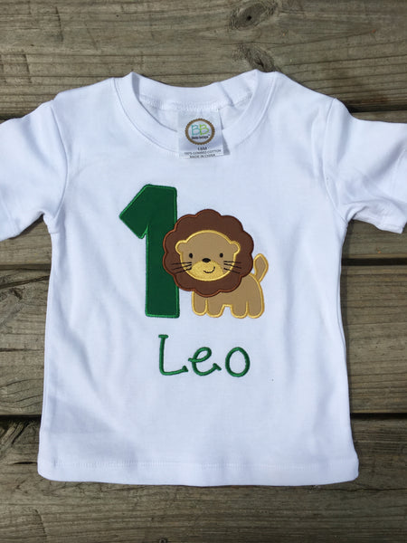Lion Birthday Shirt - Ciao Bella Boutique