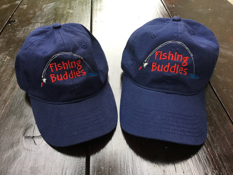 Daddy and Me Fishing Buddies Caps - Ciao Bella Boutique