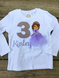 Purple Princess Shirt - Ciao Bella Boutique