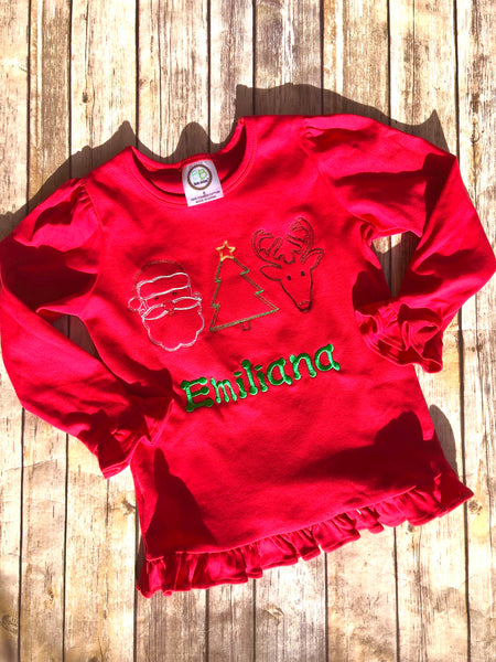 Christmas Trio Shirt - Unisex Sizing - Ciao Bella Boutique