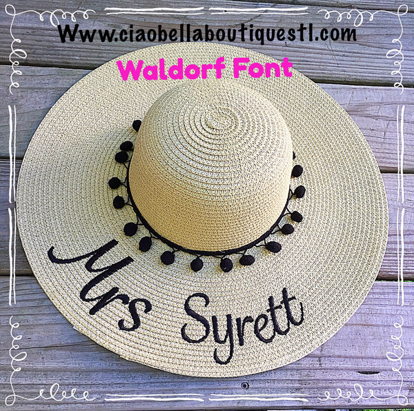 Mrs Floppy Hat - Ciao Bella Boutique