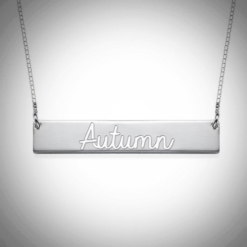 The Autumn Bar Necklace - Ciao Bella Boutique