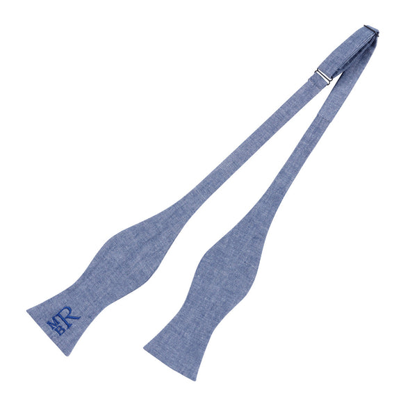 Bowtie - Chambray - Ciao Bella Boutique