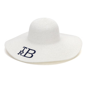Floppy Hat - White - Ciao Bella Boutique