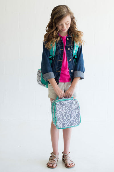 Parker Paisley Lunch Box - Ciao Bella Boutique