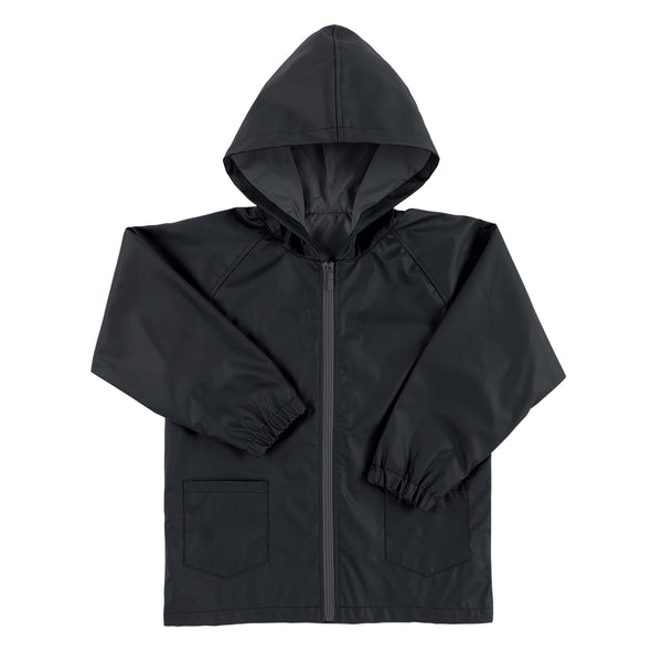 Kid's Rain Jacket - Black - Ciao Bella Boutique