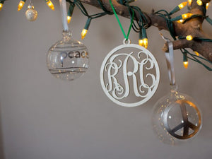 Small Wooden Monogram - Vine - Ciao Bella Boutique
