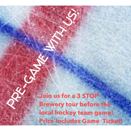 Mini Brewery Tour & Pro Hockey Ticket